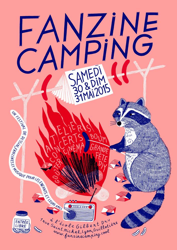 *Le camping des fanzines*